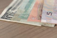 Bargeld der verschiedenen Länder Lizenzfreie Stockfotos