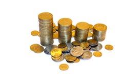 Bargeld des Weltgeldes Stockfotos