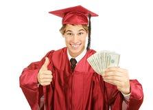 Bargeld für Hochschule stockfotografie