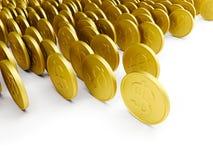 Bargeldumlauf Lizenzfreie Stockfotos