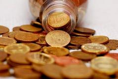 Bargeldumlauf Stockfotografie