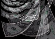 Bargeldumlauf-Schaffungs-Reichtums-Gewinn-Hintergrund Lizenzfreie Stockbilder