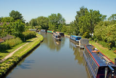 Barges. Taken in england uk Stock Photos
