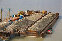 Barges Royalty Free Stock Image