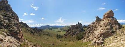 Barguzin valley. Summer landscape Royalty Free Stock Photos