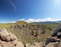 Barguzin valley. Summer landscape Stock Photo