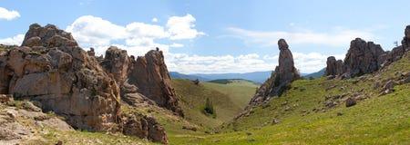 Barguzin valley. Summer landscape Stock Photography