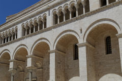 Bari Bitonto church Royalty Free Stock Image