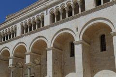 Bari Bitonto-Kirche Lizenzfreies Stockbild