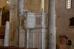 Bari, catedral San Nicola fotografía de archivo libre de regalías