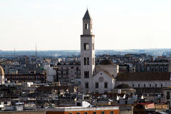 Bari cathedral. The old cathedral of bari in italy Stock Photography