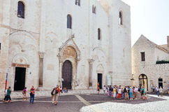 Bari Cathedral, Italy Royalty Free Stock Images