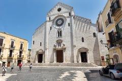 Bari Cathedral of Saint Sabinus. Stock Photography