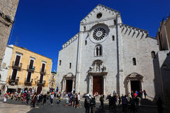 Bari, cathedrale San Sabino. Apulia, Italy Royalty Free Stock Photo