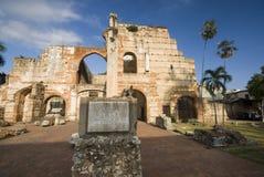 bari de sjukhus nicolas ruinas san Arkivbild