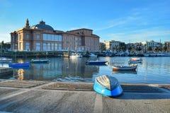 Bari, el puerto meridional de Italia Fotografía de archivo