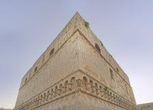 Bari, Italien: Bari Castle - alte Stadtarchitektur stockfotografie