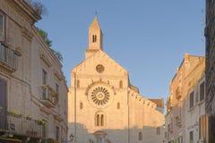 Bari, Italien: Kathedrale von San Sabino in Bari, lizenzfreie stockfotos