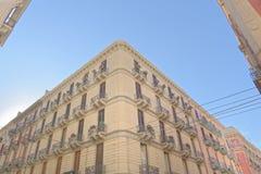 Bari, Italien: Klassische apulia Architektur, im Freien lizenzfreies stockfoto