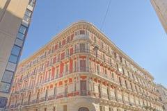 Bari, Italien: Klassische apulia Architektur, im Freien stockfotografie