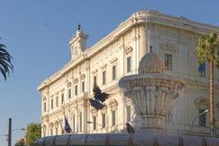 Bari, Italien: Klassische apulia Architektur, im Freien lizenzfreie stockbilder