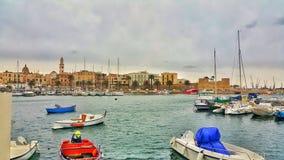 Bari, Italy. Porto Bari Itali Stock Image