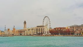 Bari Italy. Sea in Bari royalty free stock photos