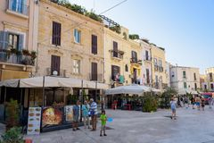 Mercantile square in Bari Royalty Free Stock Photography