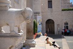 Bari, Italy. On the streets of Bari in Puglia, Italy royalty free stock image