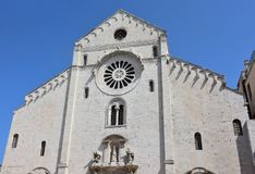 Bari, katedra Fotografia Stock