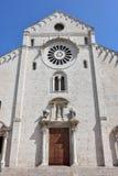 Bari, katedra Obrazy Stock