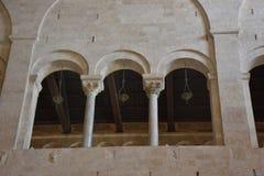 Bari, katedralny San Nicola Obraz Stock