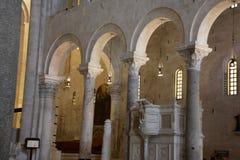Bari, katedralny San Nicola Zdjęcie Royalty Free