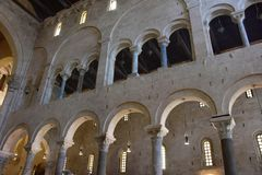 Bari, katedralny San Nicola Fotografia Stock