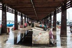 Bari old fish market Royalty Free Stock Photo