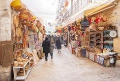 Bari, oude stad royalty-vrije stock foto