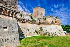 Bari, Puglia, Italië - Castello Svevo royalty-vrije stock foto's