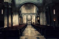 Bari Saint Nicholas church wide stock photography