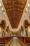 Barichara Cathedral Interior Royalty Free Stock Photos
