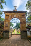 Barichara Cemetery Entrance Royalty Free Stock Images