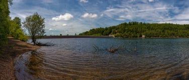 Bariera jezioro Obrazy Royalty Free