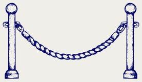 Bariery arkana Fotografia Stock