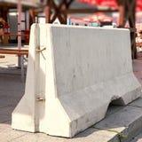 Bariery beton w Berlin Obrazy Stock