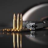 Baril d'une arme à feu Image libre de droits