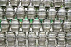 Baril de bière en acier Image libre de droits