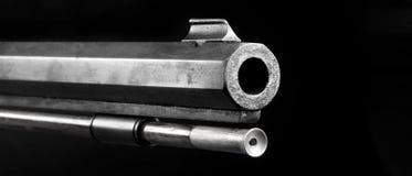 Baril de fusil de poudre noire Images libres de droits