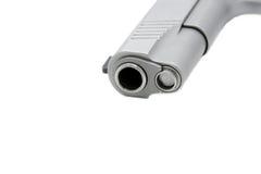 baril de pistolet de 45 calibres photographie stock