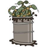 Baril de poudre de perlimpinpin illustration stock