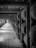 Baril de Rikhouse de Bourbon Kentucky images libres de droits