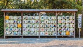 Baril de saké chez Ise Jingu Naiku Shrine photo stock